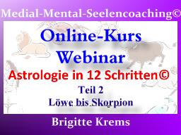 Webinar: Astrologie in 12 Schritten - Teil 2