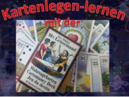 Webinar: ANFÄNGER - Kartenlegen lernen  mit der  Lenormand Karten