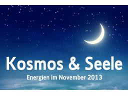 Webinar: Die kosmischen Energien im November 2013