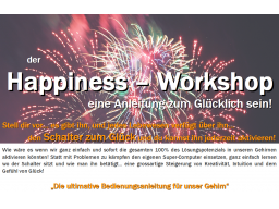 Webinar: der HAPPINESS - Workshop