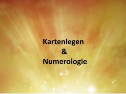 Webinar: Kartenlegen und Numerologie - Lehrvideo