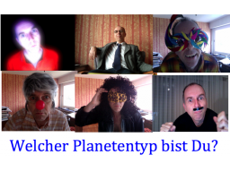 Webinar: Welcher Planetentyp bist Du?