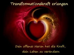 Webinar: Transformationskraft erlangen