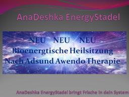 Webinar: NEU Adsund Awendo Heilsitzung