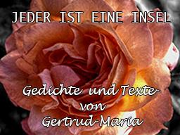 Webinar: Jeder ist ein Insel | Lesung mit Gedichten von Gertrud-Maria