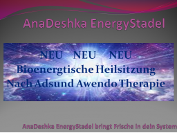 Webinar: Adsund Awendo Heilsitzung nach Tahuti & Metatron