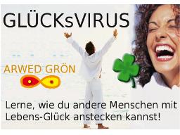 Webinar: GLÜCKsVIRUS - WIE DU ANDERE GLÜCKLICH MACHEN KANNST... Di, 25.02. 21:00h