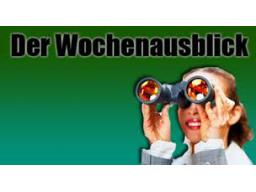 Webinar: Wochen Ausblick