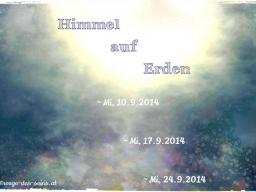 """Webinar: Info-Webinar """"Himmel auf Erden ~ Wandlung zur Freude 1"""""""