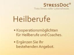 Webinar: StressDoc für Heilberufe & Coaches