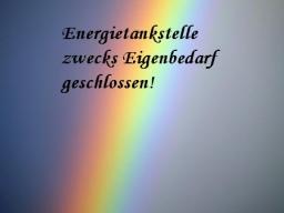 Webinar: Energievampire abwehren! Energietankstelle wegen Eigenbedarf geschlossen.
