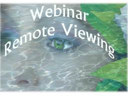 Webinar: ReMote-ViewIng Trainingsprogramm-Block 1