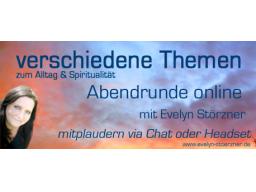 """Webinar: Abendrunde + Thema """"Vertrauen + die innere Kraft"""""""