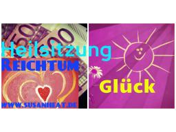 Webinar: Heilsitzung Reichtum und Glück