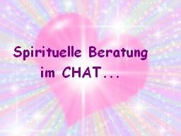 Webinar: CHAT ~ Spirituelle Beratung ~ CHAT