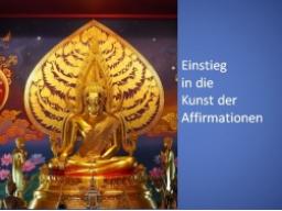 Webinar: Einstieg in die Kunst der Affirmationen