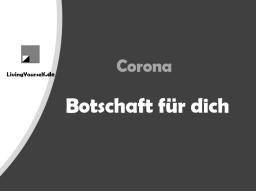 Webinar: Corona - Botschaft für dich - Lebe deine Autorität
