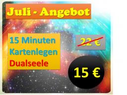 Webinar: 15 min Dualseele: ❧ Legung und Beschreibung zu Dir und Deiner Dualseele  ❧