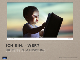 Webinar: ICH BIN - WER?