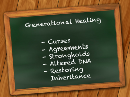 Webinar: GENERATIONEN-HEILUNG DURCH CORE-PROPHETIC-INTERCESSION® - TEIL I