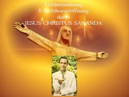 Webinar: Lichteinweihung & Lichtkanalöffnung durch Jesus Christus Sananda  - von Saint von Lux
