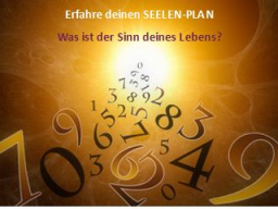 Webinar: Numerologische Beratung - KurzAnalyse
