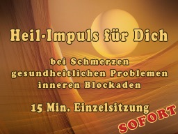 Webinar: Heil-Impuls für Dich  AKUT  15 Min.