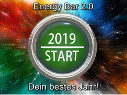 Webinar: Energy Bar 2.0 - Dein bestes Jahr 2019!