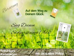 Webinar: Sag Deinen Stolpersteinen Ade!* 60 Min. hellfühliges Kartenlegen auf dem Weg zu Deinem Glück!*