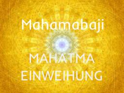 Webinar: MAHATMAEINWEIHUNG