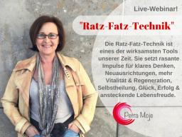 Webinar: Spare viel Zeit & Energie! Die Ratz-Fatz-Technik optimiert alles, was du bislang erlernt hast.