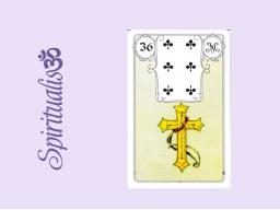 Webinar: ૐ  36 DAS  KREUZ  ૐ    Themenreihe:  Meine spirituelle Reise durch das Lenormand- Karten-Deck!