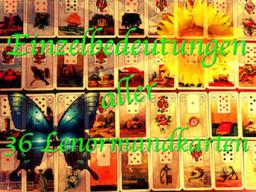 Webinar: NACHHILFE LENORMAND Einzelbedeutungen aller 36 Lenormandkarten inkl. Unterlagen