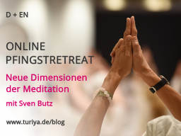 Webinar: PFINGSTRETREAT: Neue Dimensionen der Meditation