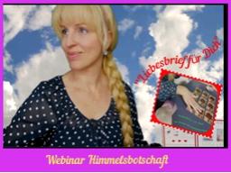"""Webinar: Webinar Kartenlegen """"Himmelsbotschaft für Dich"""""""