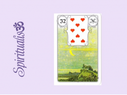 Webinar: ૐ  32 DER  MOND ૐ     Themenreihe:  Meine spirituelle Reise durch das Lenormand- Karten-Deck!