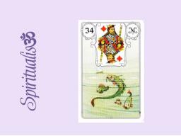 Webinar: ૐ  34 DIE  FISCHE ૐ    Themenreihe:  Meine spirituelle Reise durch das Lenormand- Karten-Deck!
