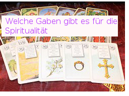 Webinar: Welche  Gaben für die Spiritualität gibt es ?