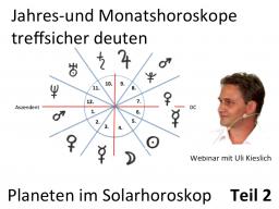 Webinar: Neue Astrologie Teil 2