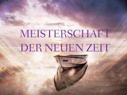 Webinar: MEISTERSCHAFT DER NEUEN ZEIT