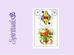 Webinar: ૐ  9 DER BLUMENSTRAUß ૐ     Themenreihe:  Meine spirituelle Reise durch das Lenormand- Karten-Deck!
