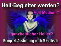 Webinar: medialer Heil-Begleiter werden -1- nach M.Gellisch