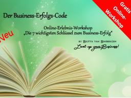 """Webinar: Kostenlos! - """"Die 7 wichtigsten Schlüssel zum Business-Erfolg"""""""