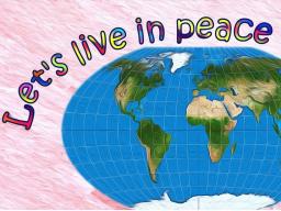 Webinar: Gemeinsam für Liebe, Frieden und Harmonie
