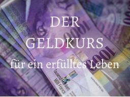 """Webinar: DER GELDKURS """"GELDANZIEHENDE GEDANKEN"""""""