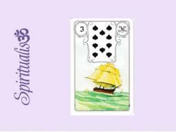 Webinar: ૐ  3 DAS SCHIFF ૐ     Themenreihe:  Meine spirituelle Reise durch das Lenormand- Karten-Deck!