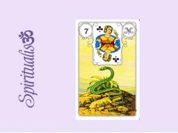 Webinar: ૐ  7 DIE SCHLANGE  ૐ     Themenreihe:  Meine spirituelle Reise durch das Lenormand- Karten-Deck!