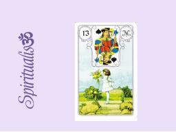 Webinar: ૐ  13 DAS KIND ૐ     Themenreihe:  Meine spirituelle Reise durch das Lenormand- Karten-Deck!
