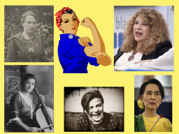 Webinar: Kämpferinnen für eine bessere Welt - Teil 1