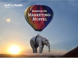 Webinar: Marketing für Marketing-Muffel